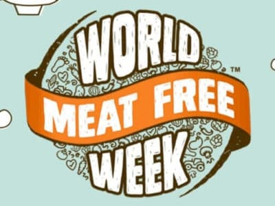 Logo der veganen Initiative: World Meat Free Week