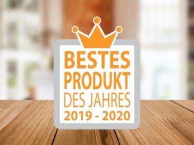 bestes produkt des jahres logo