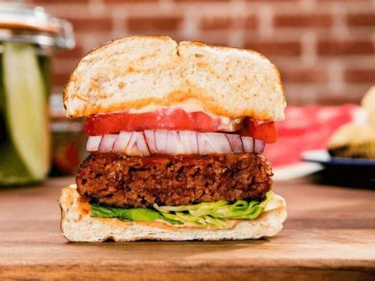 veganer Beyond Burger von Beyond Meat