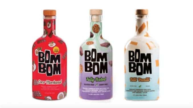 veganer Cremelikör von Bom Bom