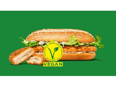 BURGER KING® erhält als Pinoier in der deutschen Gastronomie die V-Label-Lizenzierung von ProVeg - vegconomist