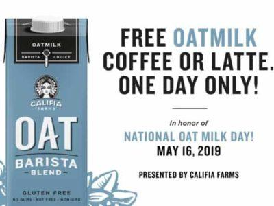 Naltional Oat Milk Day Banner