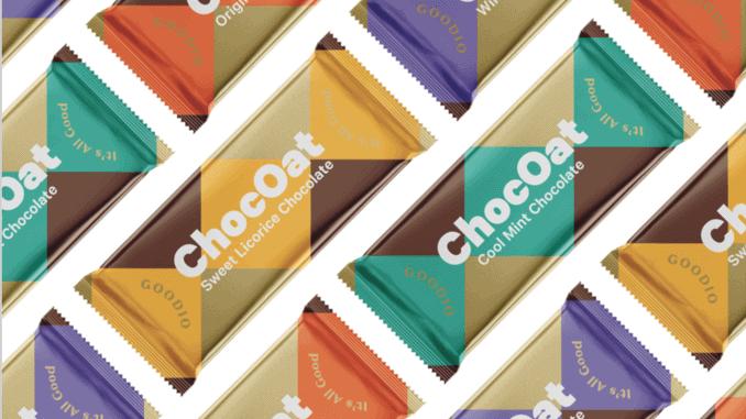 ChocOats vegane Riegel von Goodio