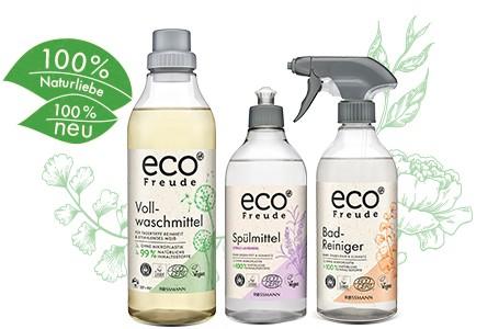 ROSSMANN launcht nachhaltige Wasch-, Putz- und Reinigungsmittelmarke