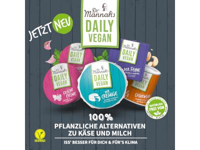 """Dr. Mannah`s gewinnt mit veganer Camembert-Alternative aus Blumenkohl """"Top Innovation 2021"""" auf der Anuga"""