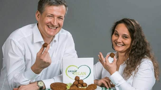 Die Gründer von easyVEGAN – Cassandra Winter & Martin Jager