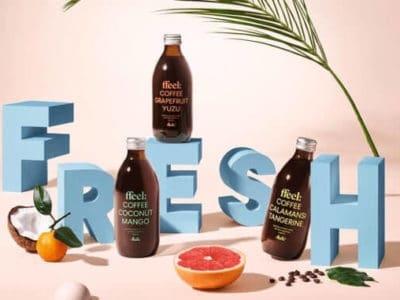 Kaffee trifft Frucht - vegane Kaffeelimonade von Melitta