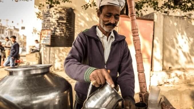 vegane Milchalternativen in Indien ohne Zusatzstoffe