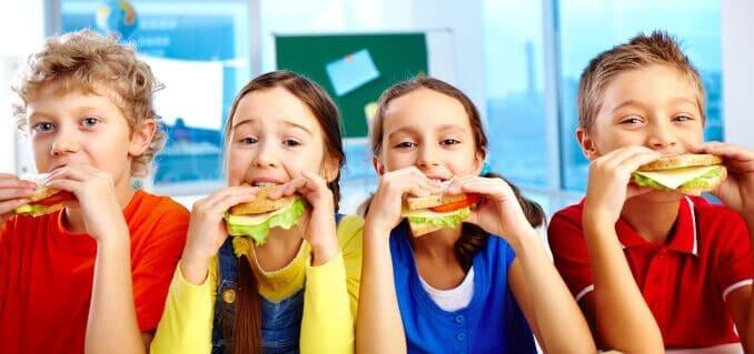 kinder schule ernährung