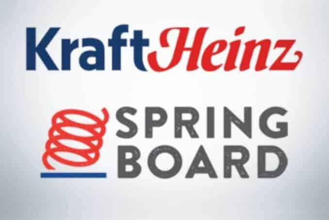 kraft heinz springboard