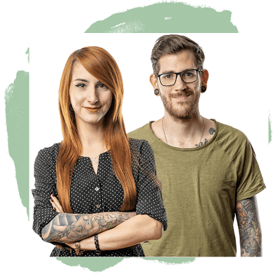 Nadine und Philipp Steuer, Kupfergrün