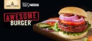 nestle sweet earth awesome burger