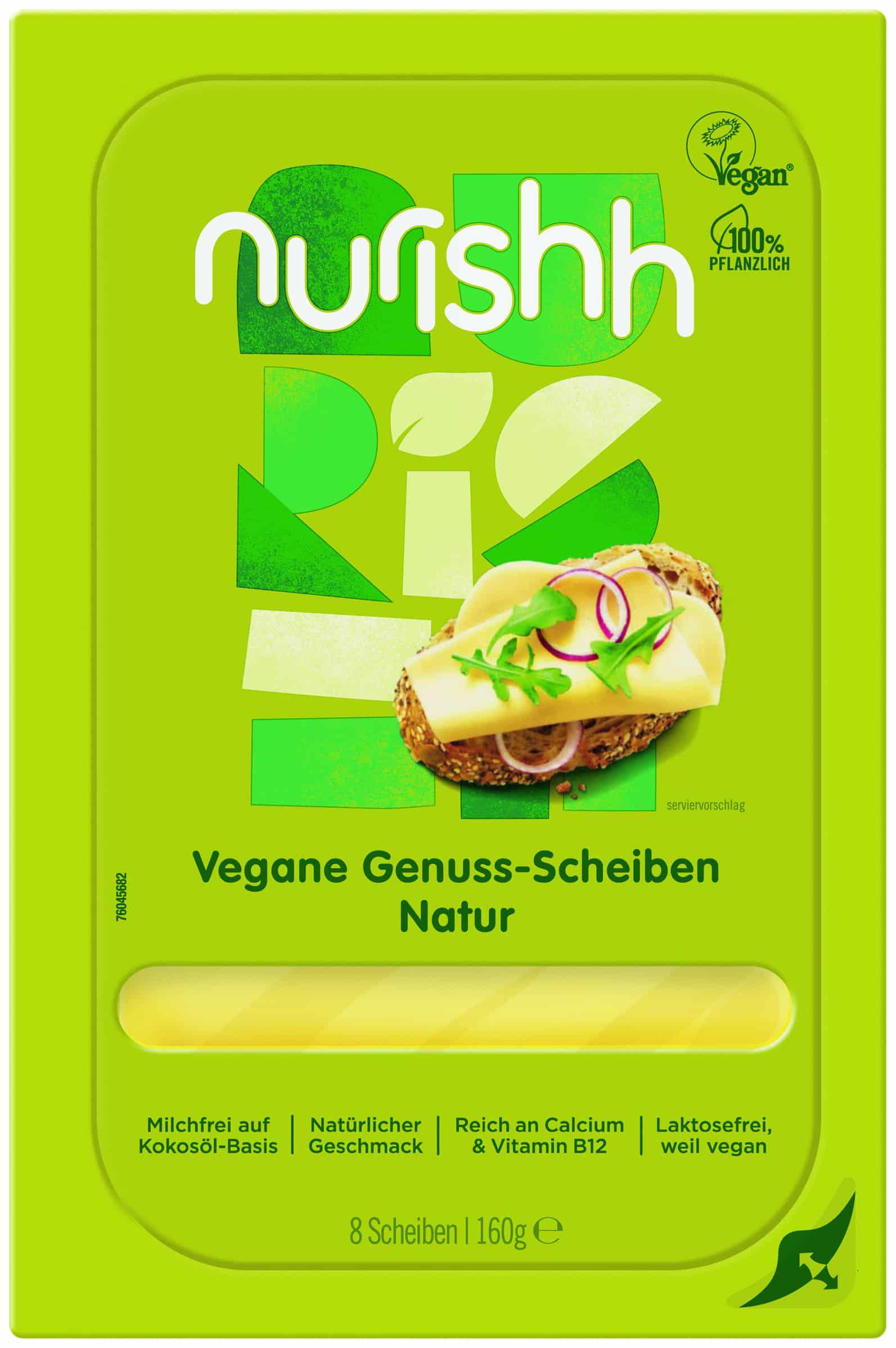 Vegane Genuss-Scheiben Natur