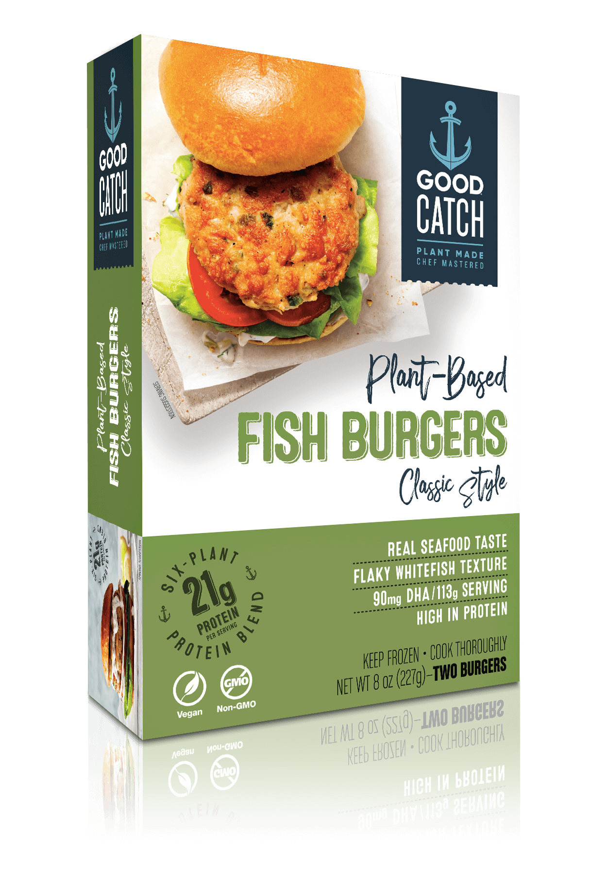 Plant-Based Fish Burgers: Classic Style