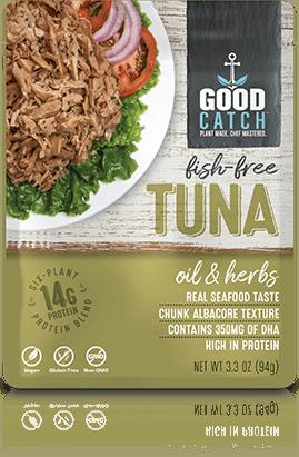 Plant-Based Tuna: Oil & Herbs