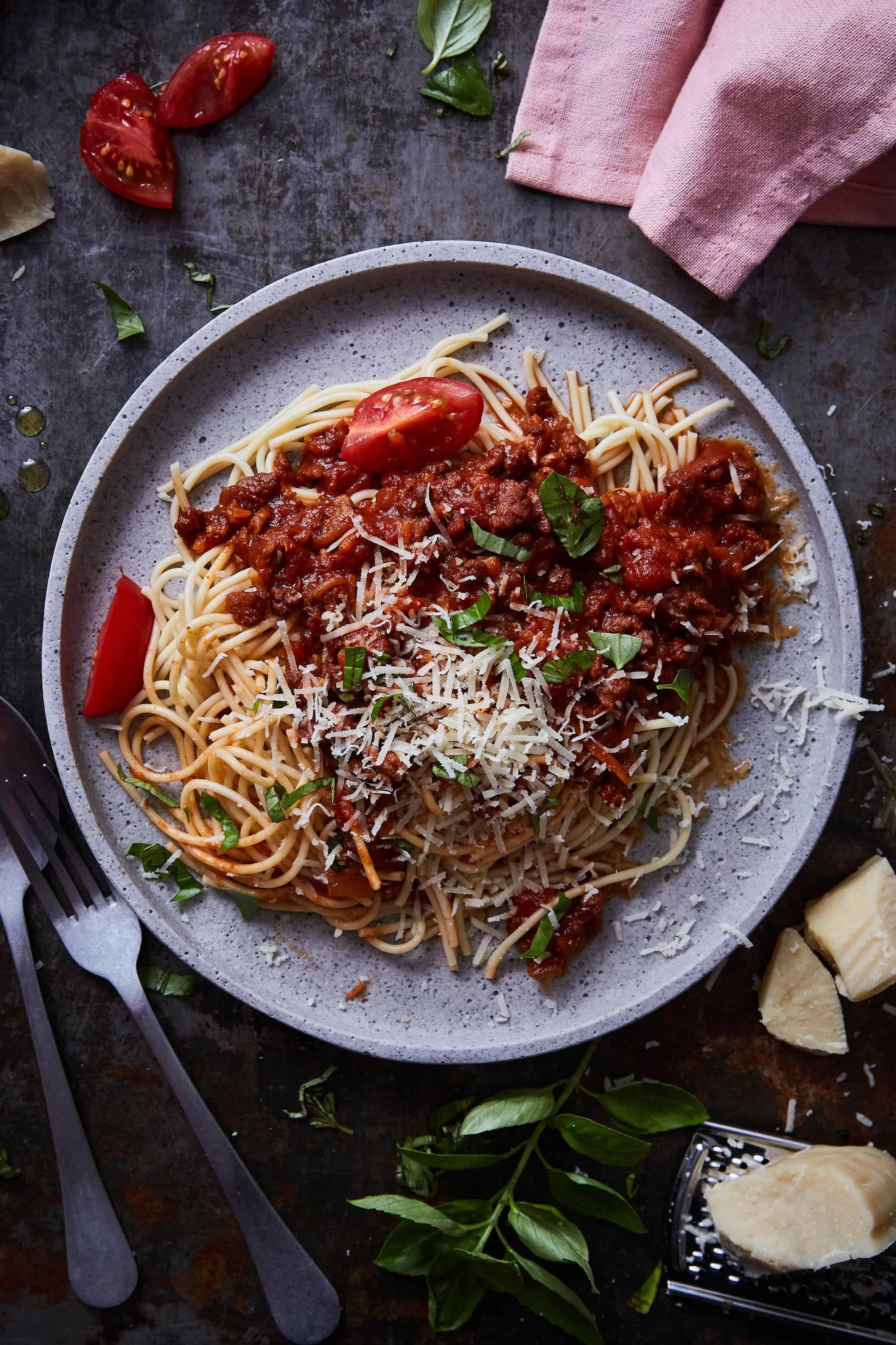 LikeMeat Rezept: Like-Hack Spaghetti Bolognese