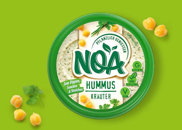 NOA Hummus: Kräuter