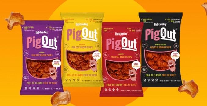Pigout vegane Bacon Chips