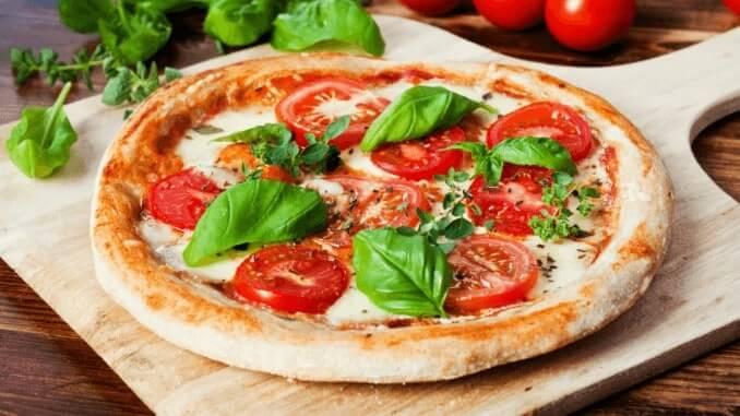 vegane Pizza Margherita von Tesco