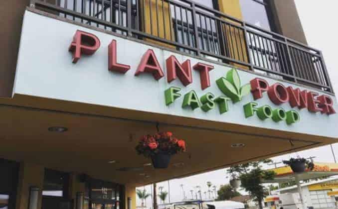 plant power fast food logo