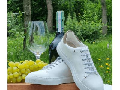 """NOAH launcht mit """"SAMMY"""" einen exclusiven Sneaker aus Wein-Leder - vegconomist"""