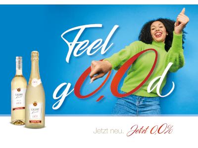 Feel G0,0D!: Schloss Wachenheim launcht innovative alkoholfreie Getränke unter der Marke LIGHT - vegconomist