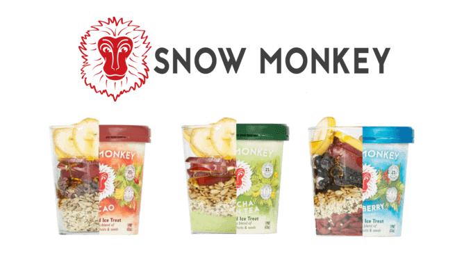 snow monkey veganes paleo eis
