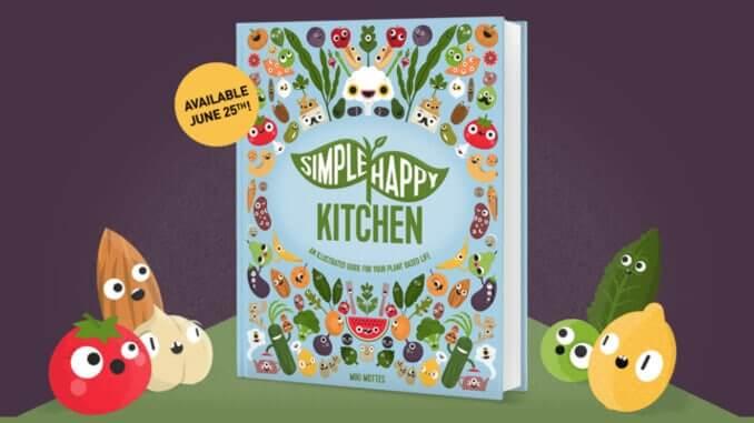 """der neue vegane Ratgeber """"Simply Happy Kitchen"""""""