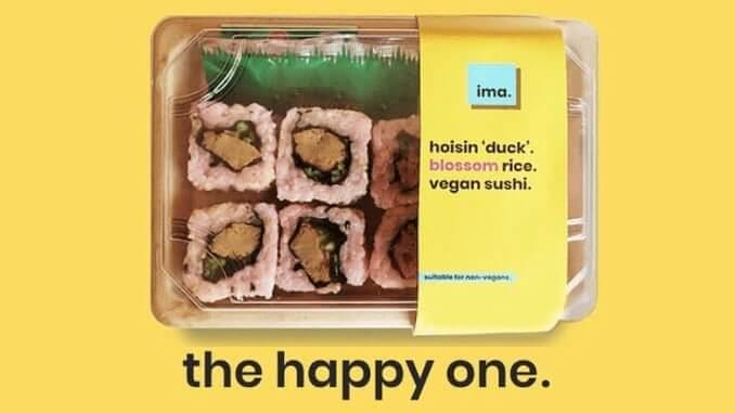 The happy one: veganes Sushi von IMA FOODS