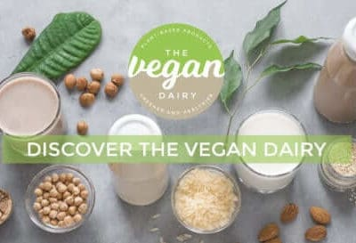 the vegan dairy logo