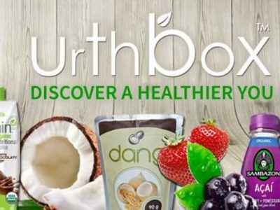 Vegane Lebensmittelbox von Urthbox