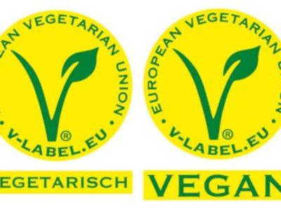 v-label logo
