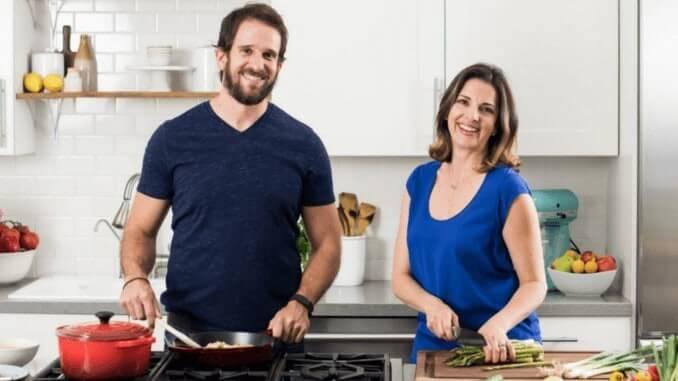Veestro-Gründer Mark Fachler & Monika Klausner (veganer Lieferservice)
