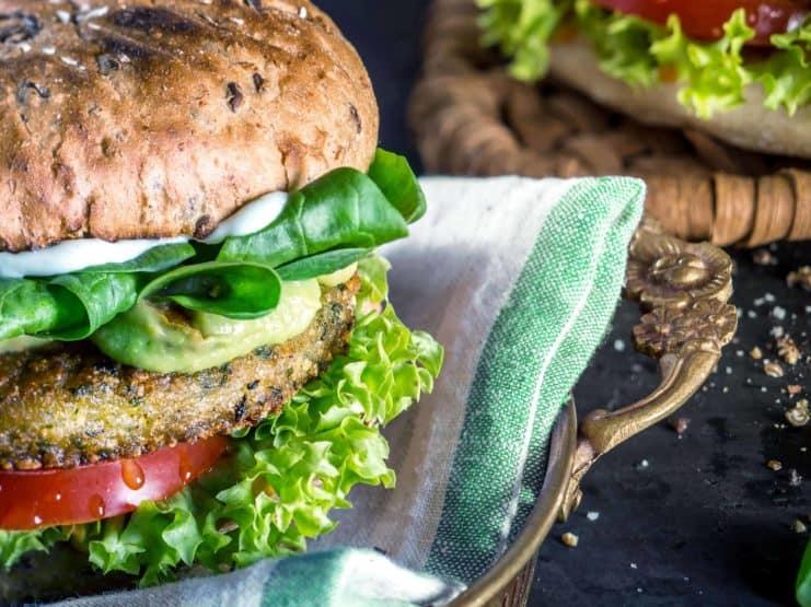 veganer Burger von Peter Pane