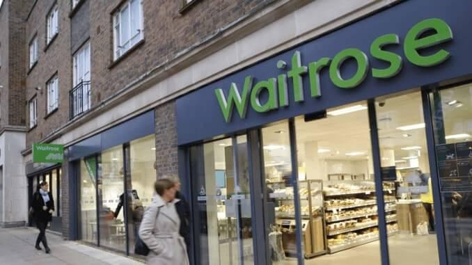 Waitrose-Filiale von außen
