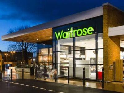 Waitrose Supermarkt Außenansicht